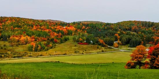 Los maravillosos colores de Otoño en Quebec
